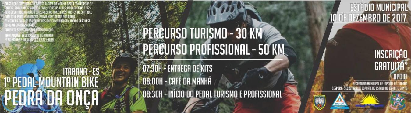 1º Pedal Mountain Bike da Pedra da Onça