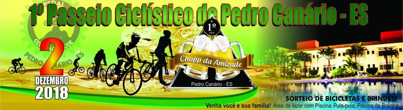 1º Passeio Ciclístico de Pedro Canário - ES