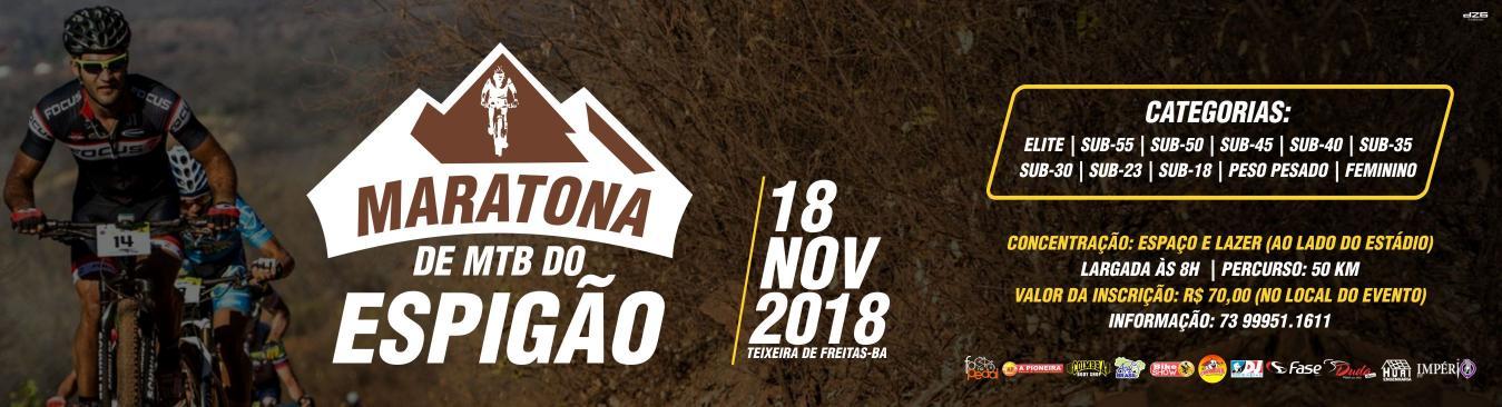 Ultramaratona do Espigão - 2018