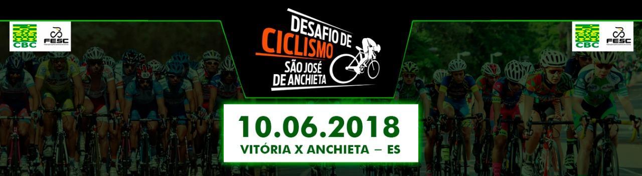 DESAFIO  DE CICLISMO SÃO JOSE DE ANCHIETA  - 2018