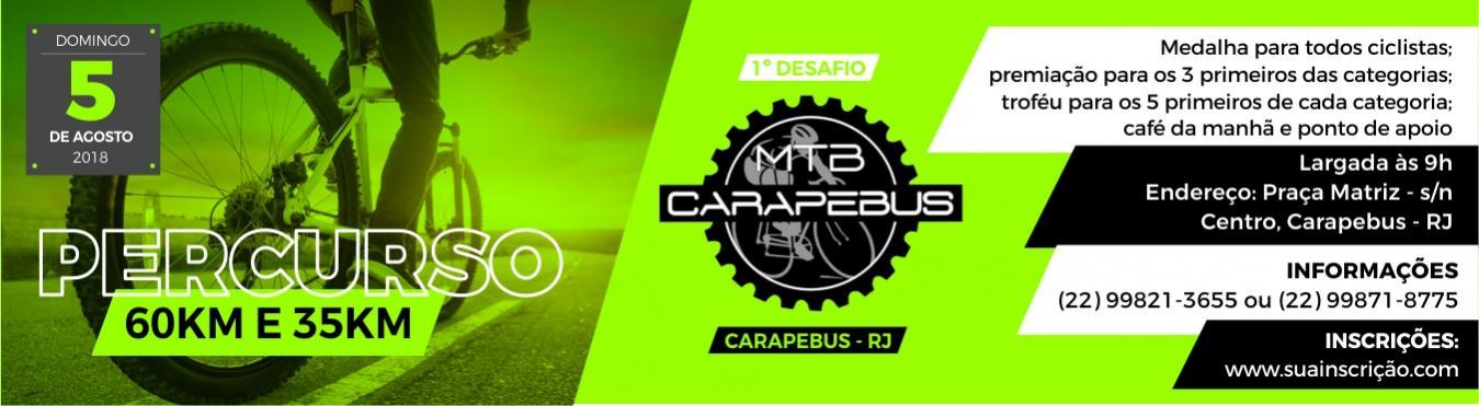 1º Desafio MTB Carapebus RJ - 2018