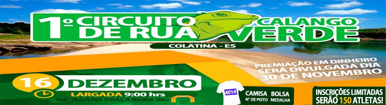 1º CIRCUITO DE RUA CALANGO VERDE