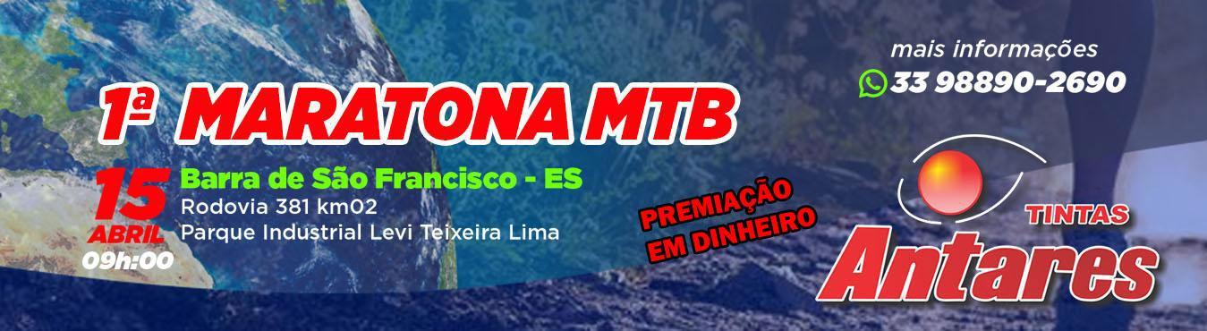 1ª Maratona MTB - TINTAS ANTARES