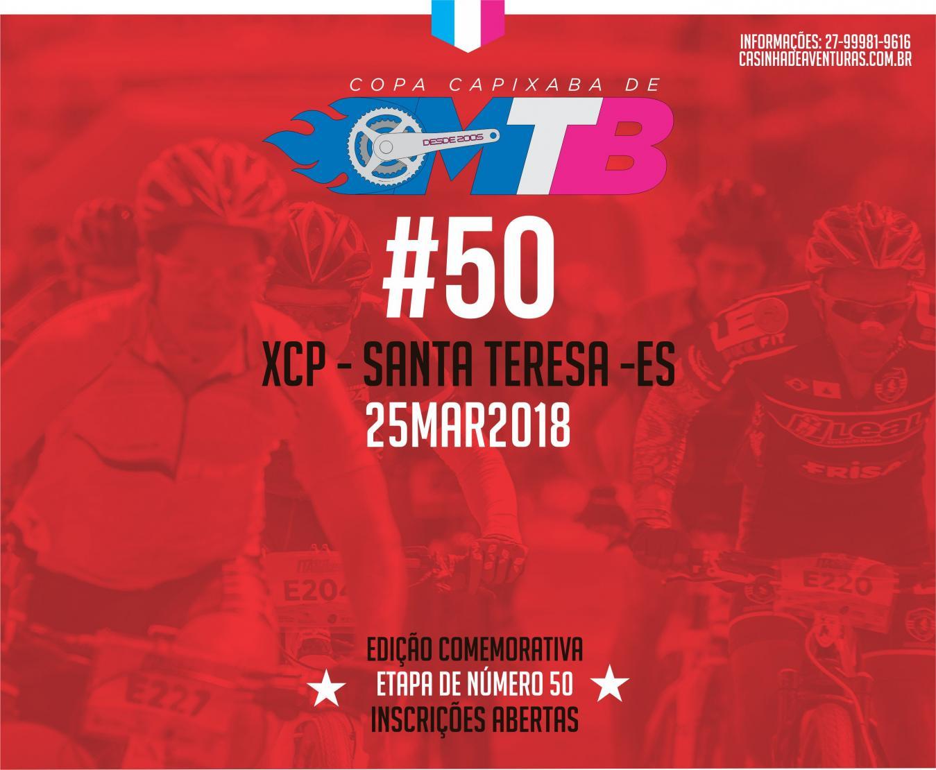 Copa Capixaba MTB 1º Etapa 2018