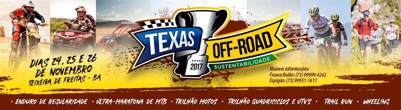 TEXAS OFF ROAD SUSTENTABILIDADE TRIAL RUN